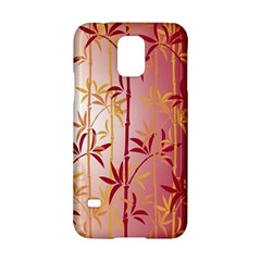 Bamboo Tree New Year Red Samsung Galaxy S5 Hardshell Case