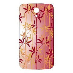 Bamboo Tree New Year Red Samsung Galaxy Mega I9200 Hardshell Back Case
