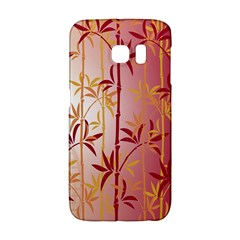 Bamboo Tree New Year Red Galaxy S6 Edge by AnjaniArt