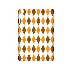 Brown Orange Retro Diamond Copy Ipad Mini 2 Hardshell Cases by AnjaniArt