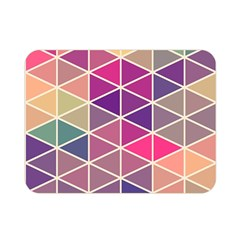 Chevron Colorful Double Sided Flano Blanket (mini)