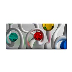 Colorful Glass Balls Cosmetic Storage Cases
