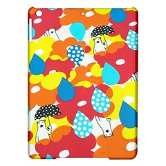 Bear Umbrella Ipad Air Hardshell Cases by AnjaniArt