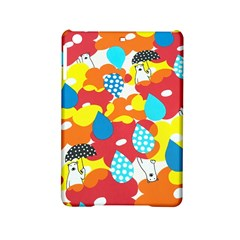 Bear Umbrella Ipad Mini 2 Hardshell Cases by AnjaniArt