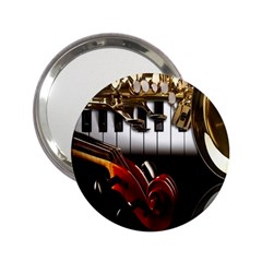 Classical Music Instruments 2 25  Handbag Mirrors by AnjaniArt