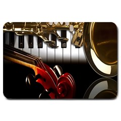 Classical Music Instruments Large Doormat