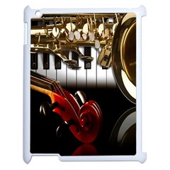 Classical Music Instruments Apple Ipad 2 Case (white)