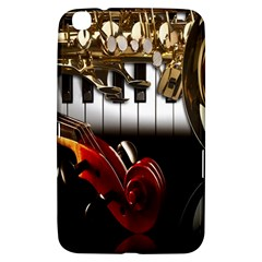 Classical Music Instruments Samsung Galaxy Tab 3 (8 ) T3100 Hardshell Case  by AnjaniArt