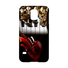 Classical Music Instruments Samsung Galaxy S5 Hardshell Case  by AnjaniArt