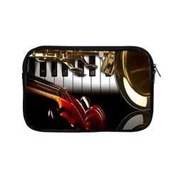 Classical Music Instruments Apple Macbook Pro 13  Zipper Case by AnjaniArt