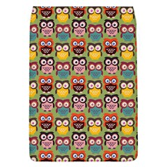 Eye Owl Colorful Cute Animals Bird Copy Flap Covers (l)  by AnjaniArt