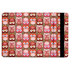 Eye Owl Colorfull Pink Orange Brown Copy Ipad Air 2 Flip by AnjaniArt