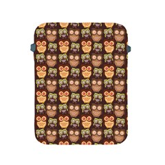 Eye Owl Line Brown Copy Apple Ipad 2/3/4 Protective Soft Cases