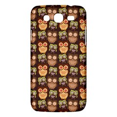Eye Owl Line Brown Copy Samsung Galaxy Mega 5 8 I9152 Hardshell Case  by AnjaniArt