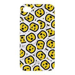 Face Smile Yellow Copy Apple Iphone 4/4s Hardshell Case