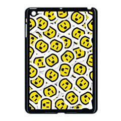 Face Smile Yellow Copy Apple Ipad Mini Case (black)