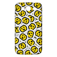 Face Smile Yellow Copy Samsung Galaxy Mega 5 8 I9152 Hardshell Case