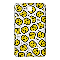 Face Smile Yellow Copy Samsung Galaxy Tab 4 (7 ) Hardshell Case  by AnjaniArt