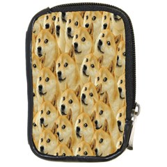 Face Cute Dog Compact Camera Cases by AnjaniArt