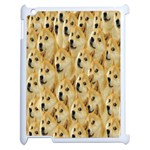 Face Cute Dog Apple iPad 2 Case (White) Front