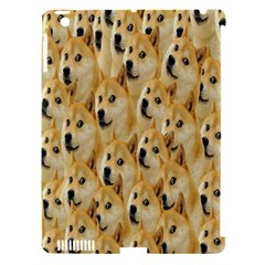 Face Cute Dog Apple Ipad 3/4 Hardshell Case (compatible With Smart Cover) by AnjaniArt