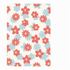 Flower Pink Small Garden Flag (two Sides) by AnjaniArt