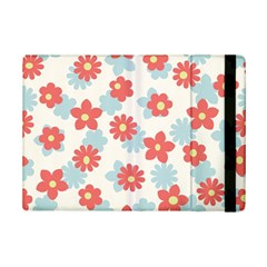 Flower Pink Ipad Mini 2 Flip Cases by AnjaniArt