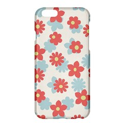 Flower Pink Apple Iphone 6 Plus/6s Plus Hardshell Case by AnjaniArt