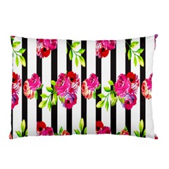 Flower Rose Pillow Case by AnjaniArt