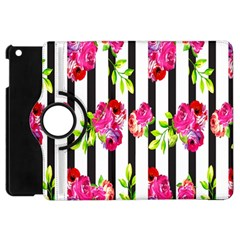 Flower Rose Apple Ipad Mini Flip 360 Case