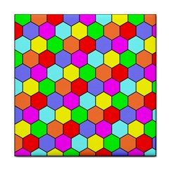 Hexagonal Tiling Tile Coasters by AnjaniArt