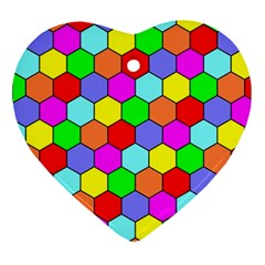 Hexagonal Tiling Ornament (heart)  by AnjaniArt