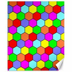 Hexagonal Tiling Canvas 16  X 20   by AnjaniArt