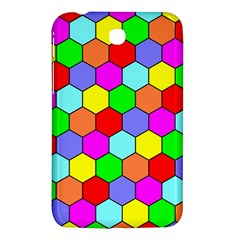 Hexagonal Tiling Samsung Galaxy Tab 3 (7 ) P3200 Hardshell Case  by AnjaniArt