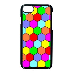 Hexagonal Tiling Apple Iphone 7 Seamless Case (black) by AnjaniArt