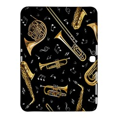 Instrument Saxophone Jazz Samsung Galaxy Tab 4 (10 1 ) Hardshell Case  by AnjaniArt