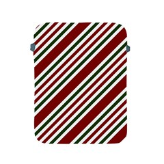 Line Christmas Stripes Apple Ipad 2/3/4 Protective Soft Cases