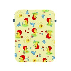Lion Animals Sun Apple Ipad 2/3/4 Protective Soft Cases