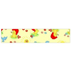 Lion Animals Sun Flano Scarf (small)