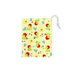 Lion Animals Sun Drawstring Pouches (xs)