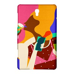 Girl Colorful Copy Samsung Galaxy Tab S (8 4 ) Hardshell Case  by AnjaniArt