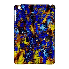 Network Blue Color Abstraction Apple Ipad Mini Hardshell Case (compatible With Smart Cover)
