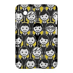 Man Girl Face Standing Samsung Galaxy Tab 2 (7 ) P3100 Hardshell Case  by AnjaniArt