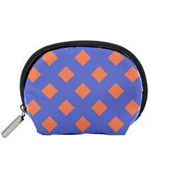 Orange Blue Accessory Pouches (small)  by AnjaniArt