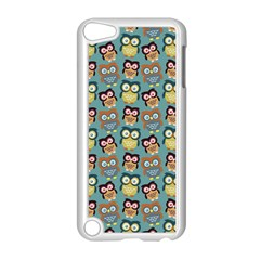 Owl Eye Blue Bird Copy Apple Ipod Touch 5 Case (white)