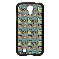 Owl Eye Blue Bird Copy Samsung Galaxy S4 I9500/ I9505 Case (black) by AnjaniArt