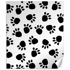 Paws Black Animals Canvas 20  X 24