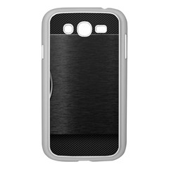 On Black Samsung Galaxy Grand Duos I9082 Case (white)