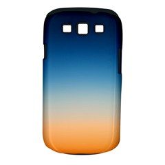 Rainbow Blue Orange Purple Samsung Galaxy S Iii Classic Hardshell Case (pc+silicone)