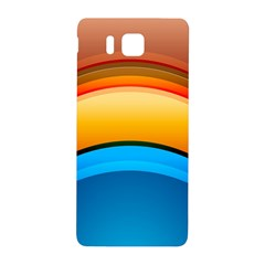 Rainbow Color Samsung Galaxy Alpha Hardshell Back Case